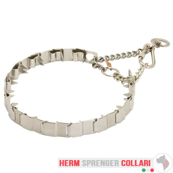 """Touch of Tame"" Collare in acciaio inox Neck Tech SPORT - 60 cm"