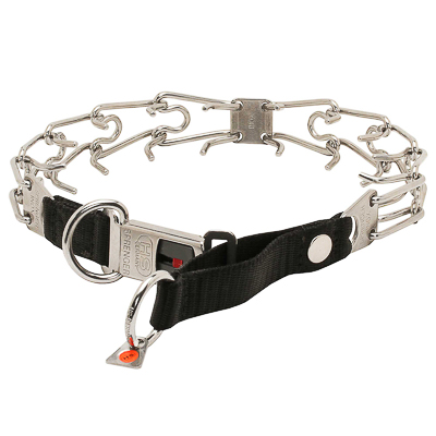 Stainless Steel Pinch Dog Collar - (3.2 mm x 20 1/2 inches)